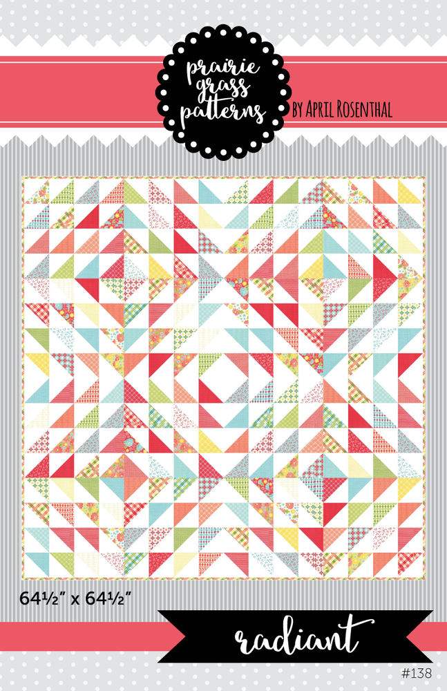 Image of Radiant: PDF Quilting Pattern #138