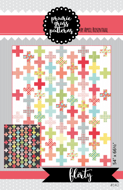 Image of Flirty: PDF Quilting Pattern #140