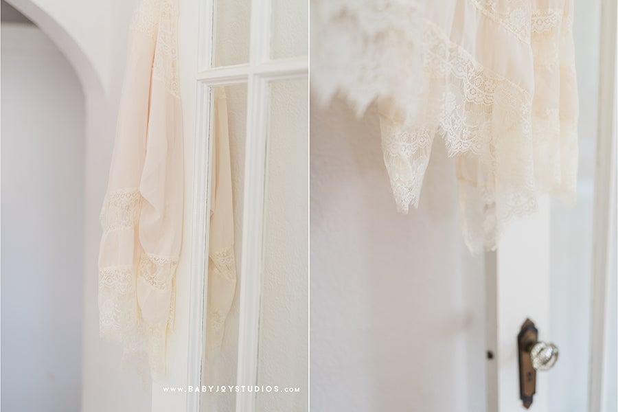 Image of {Embrace} lace maternity kimono