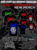 Image of VOMIT REMNANTS - NEW MERCH (T-shirt/Longsleeve/Zip-Hoodie)