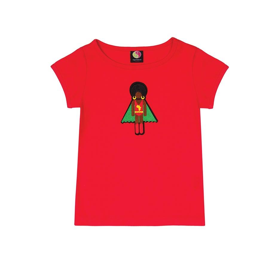 Image of AFRO SUPA® GIRLS | ORGANIC COTTON TEES