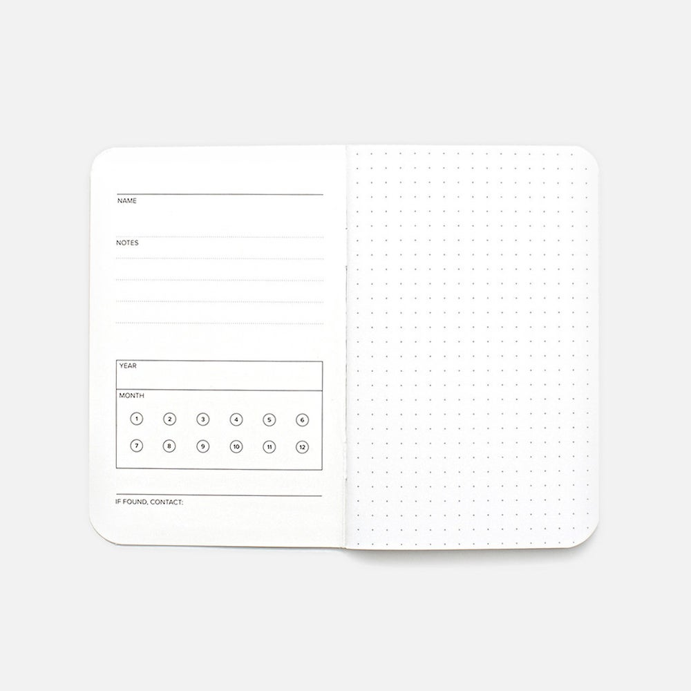 Image of Word. Notebooks - Dot Grid