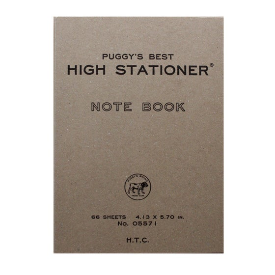 Image of Puggy's Best High Stationer Notebook