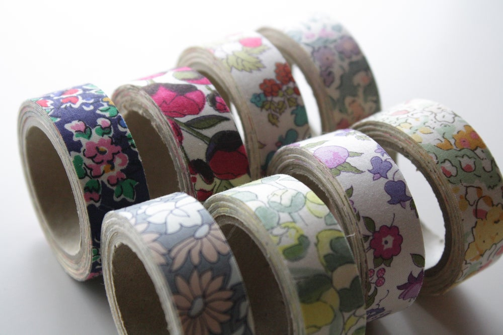 Image of Floral Fabric Tape