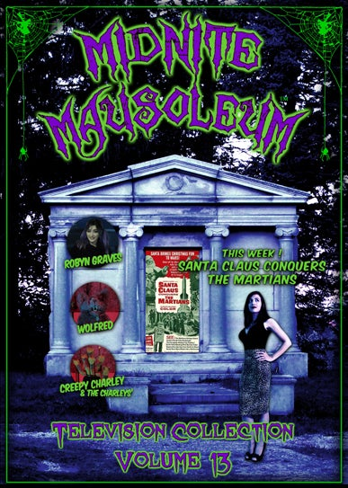 Image of *NEW* MIDNITE MAUSOLEUM TV Collection #13 DVD