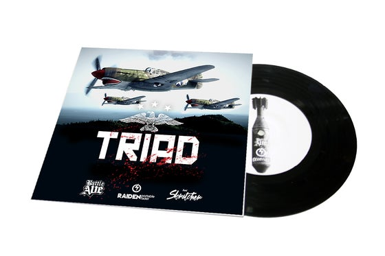 """Image of TRIAD BREAKS 7"""" SCRATCH RECORD (NEW COVER)"""