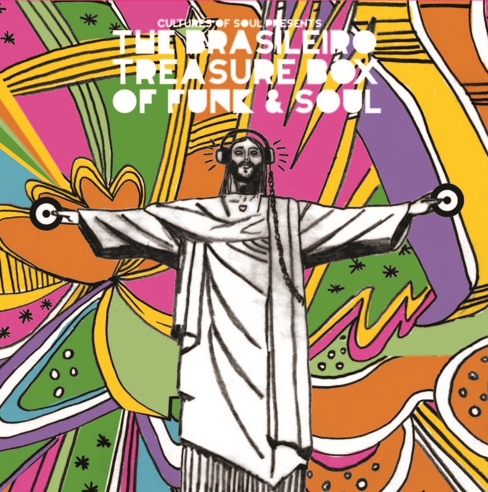 Image of CULTURES OF SOUL PRESENTS THE BRASILEIRO TREASURE BOX FUNK & SOUL