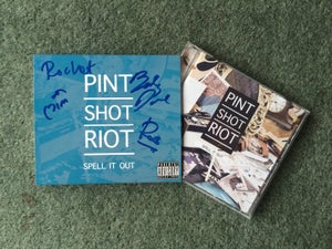Image of SPELL IT OUT - ALBUM CD & LIVE DVD SIGNED!!