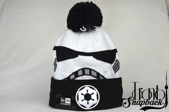 Image of STAR WARS GALACTIC BIGGIE STORM TROOPER IV BEANIE