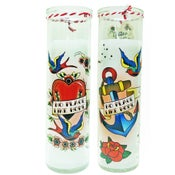 Image of Tattoo Flash Candles