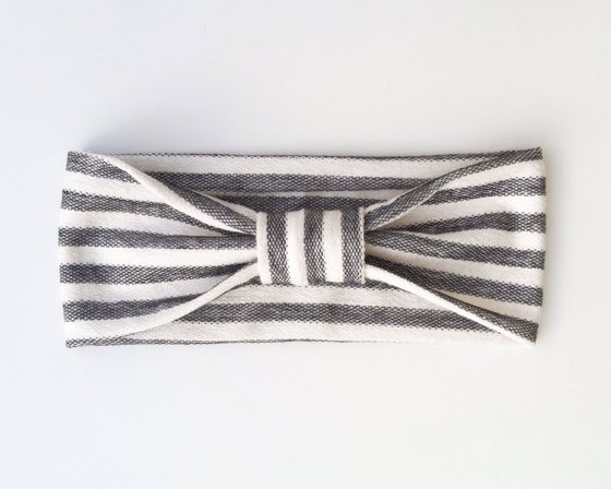 Image of | Black+Cream Stripe |