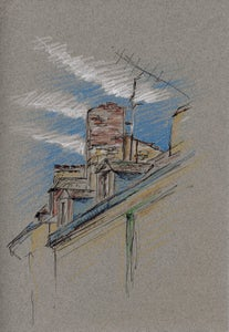 Image of Rooftops - Sarlat, France