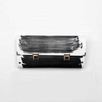 Image of Paint-ink / Clutch bag / Double closure