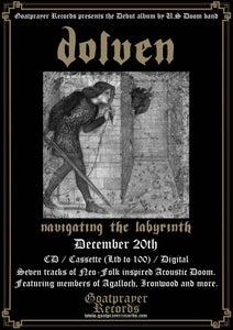 Image of PRE-ORDER: DOLVEN - NAVIGATING THE LABYRINTH (CD)