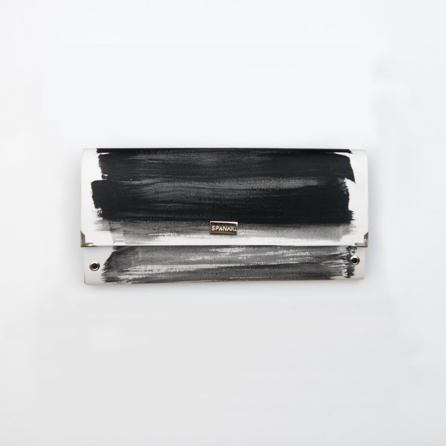 Image of Paint-ink / Clutch bag / Single button