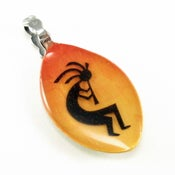 Image of Kokopelli Baby Spoon Pendant