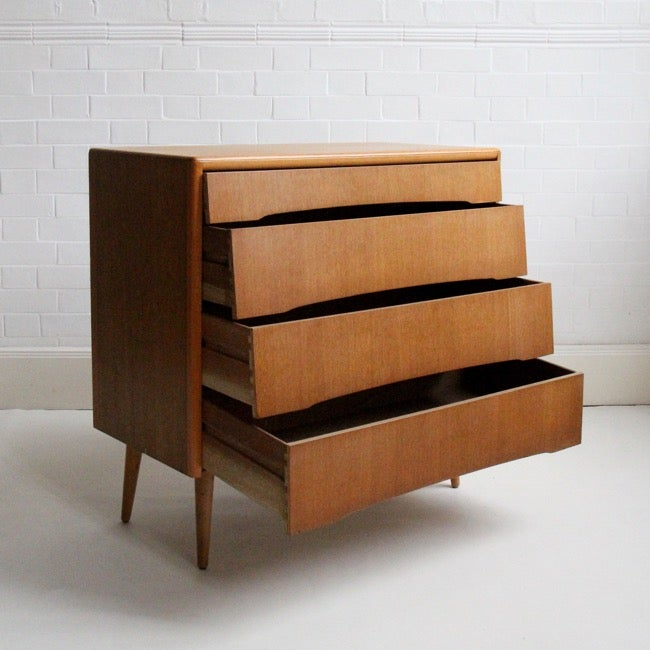 Image of Mid-century chest of drawers c1960