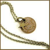 Image of Monroe County Transit Token Necklace