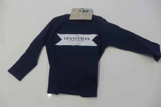 Image of Gentleman in the making - Kids Blue 15/16 - Long sleeve