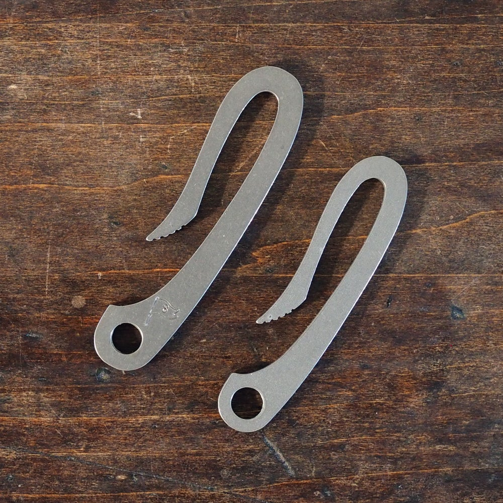 Image of Scout Hook™ Keychain Bottle Opener (Mini Slim Titanium)
