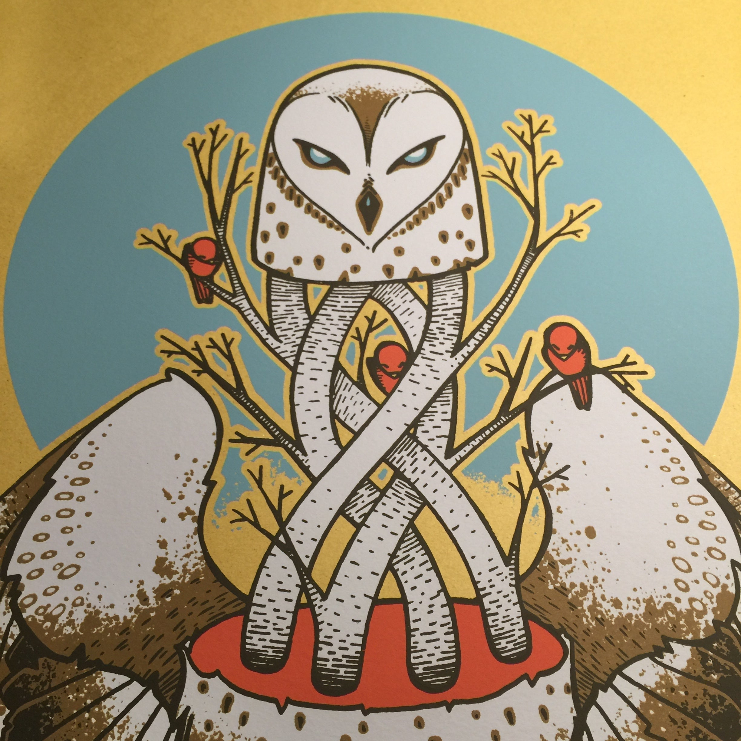 The Owl S Winter The Inking Dragon