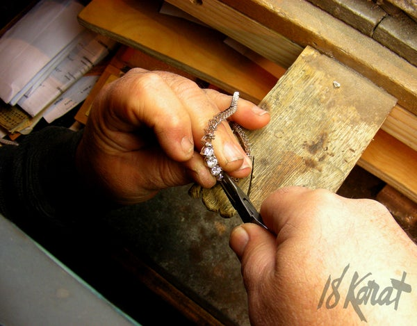 Sheila's Diamond Riviera Necklace - 18Karat Studio+Gallery