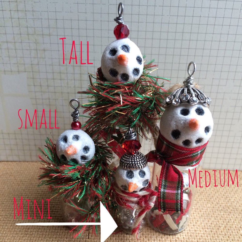 Image of Snowman Necklaces