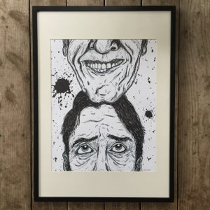 Image of The Other Half – Framed Original