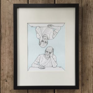 Image of Identical Thinking – Framed Original