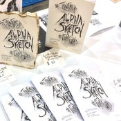 Image of AlphaSketch Vol. 6, First Edition sketchbook