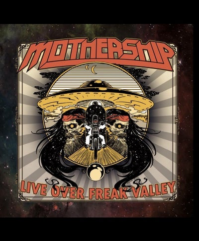 Image of Mothership - Live Over Freak Valley LP (Black Vinyl)