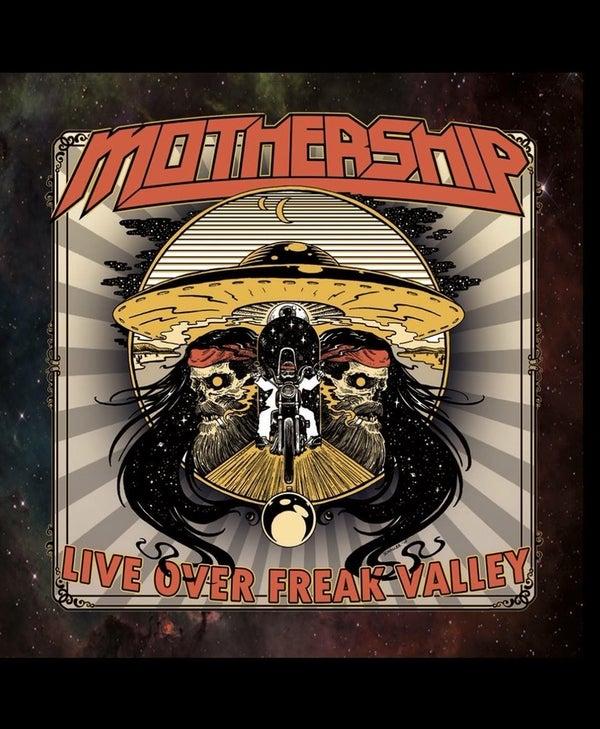 Image of Mothership - Live Over Freak Valley LP (Black Vinyl)