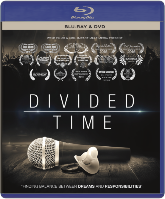 """Image of """"Divided Time"""" Blu-Ray/DVD Combo"""