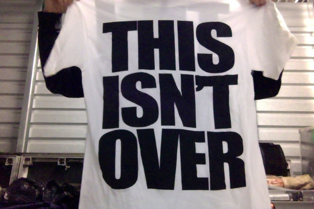 "Image of EMMURE ""THIS ISN'T OVER"" SHIRT XL & XXL"