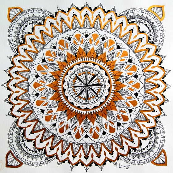 Image of Gold Mandala