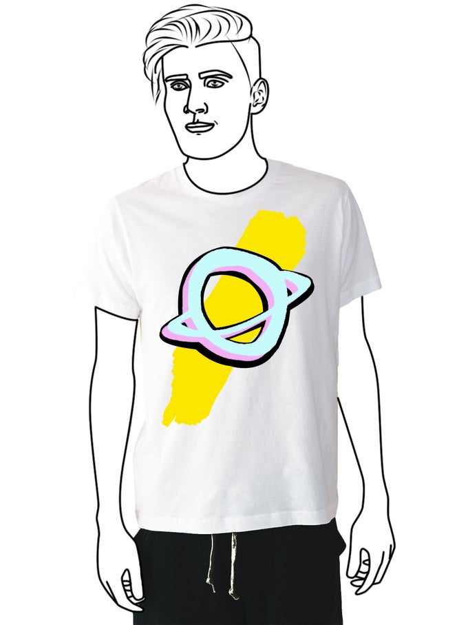 "Image of ""NEPTONES"" LIMITED EDITION TEE + DIGI DOWNLOAD - WHITE"