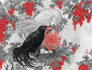 Image of popular print 5: Love Birds