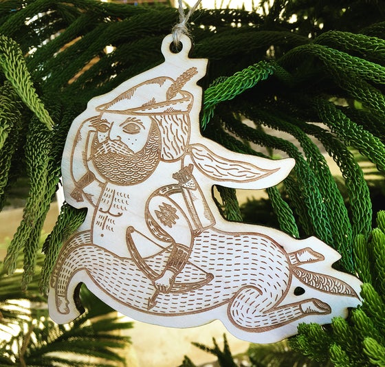 Image of Michael C. Hsiung's Holiday Ornament: Prancing Centaur