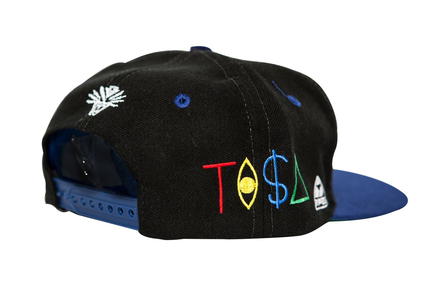 Image of TI$A COWBOYS VINTAGE BLACK CAP