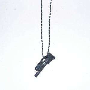 Image of THE NINJA/STEALTH BLOW YOUR OWN TRUMPET - MATT BLACK STEEL