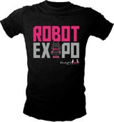 Image of Black Girls Code Robot Expo Tshirt (Ladie's sizes only)