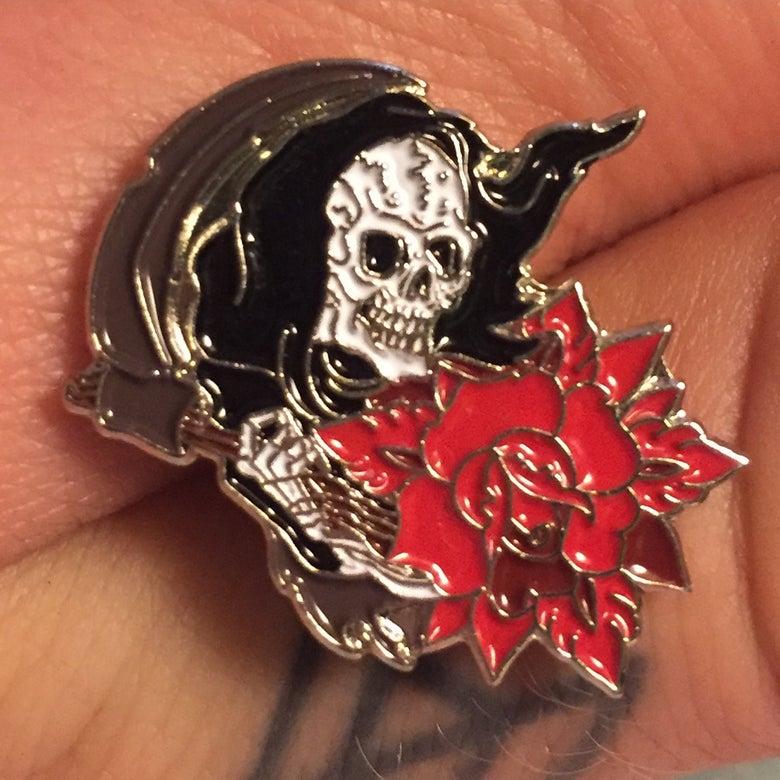 Image of Black Reaper pin