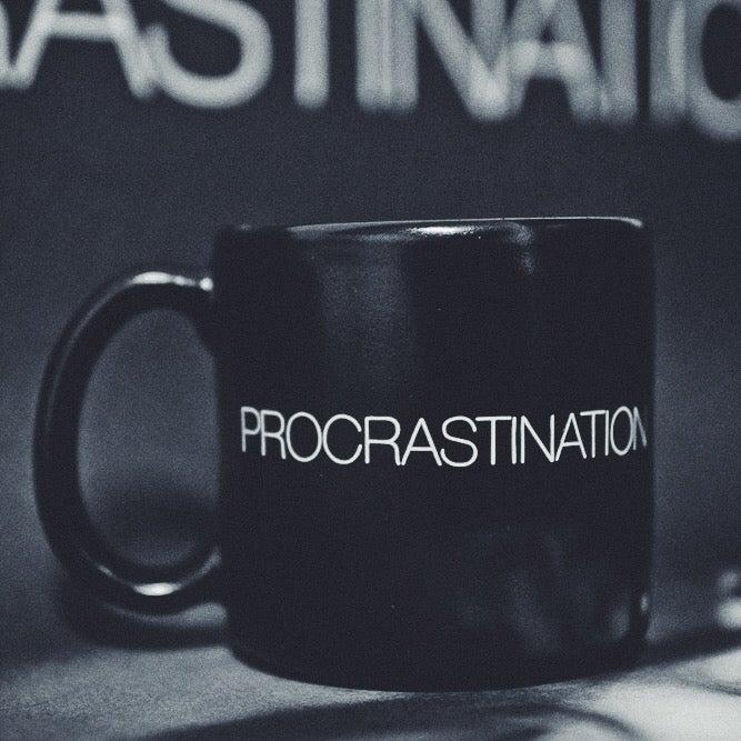 Image of PROCRASTINATION mug