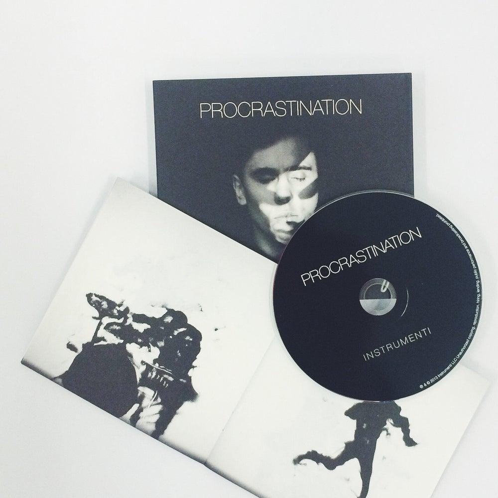 Image of PROCRASTINATION CD (2013)