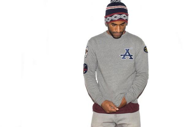 Collegiate Crewneck Sweater - ANNEX