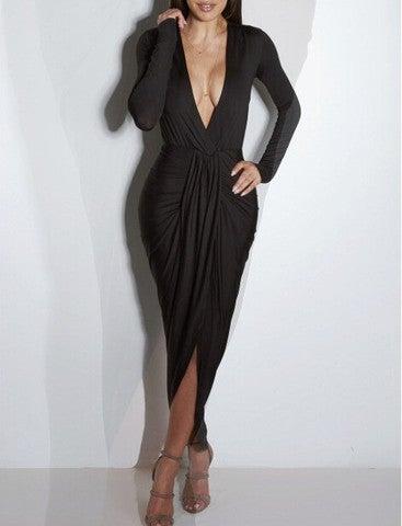 Image of ELEGANT FASHION FOLD HOT DRESS