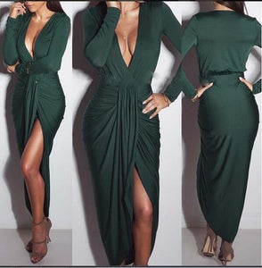 Image of ELEGANT FASHION FOLD HOT DRESS