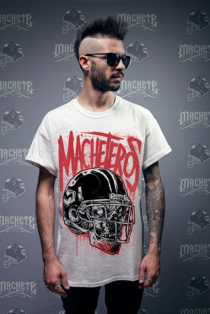 """Image of """"Machetero"""" T-shirt white"""