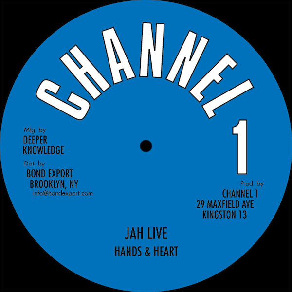 "Image of Hands & Heart / Angela Prince - Jah Live / I Don't Wanna Feel Ashamed 10"" (Channel 1)"