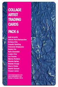 Image of Collage Artist Trading Cards, Pack Six